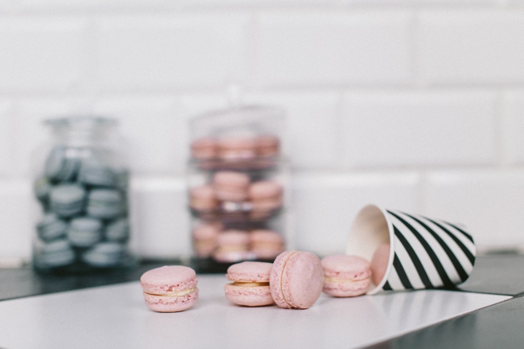 macarons rose quartz